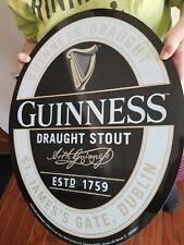 Guinness sign bar pub display man cave large