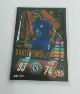 KANTE Topps Match Attax 20/21 Ngolo Kante Limited Edition Bronze Very Rare LE10B