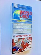 $20 PREPAID CALLING CARD INTERNATIONAL and USA CALLING NO EXPIRATION AT&T