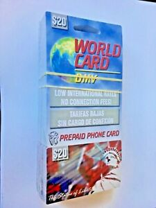 $20 AT&T PREPAID PHONE CARD FOR INTERNATIONAL and USA CALLING  NO EXPIRATION