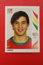 PANINI FIFA WORLD CUP GERMANY 2006 06 N. 296 PORTUGAL SIMAO  MINT!!!