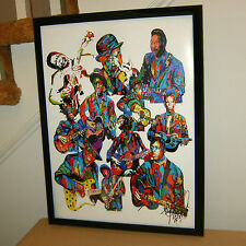 Blues Players, BB King, Sonny Boy Williamson, Robert Johnson, 18x24 POSTER w/COA