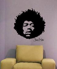 Jimi Hendrix - Gitarren Gott  - Walltattoo - Wandtattoo