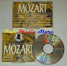 CD MOZART concerto k 459 sinfonia k 201 andante k 315 CURCIO lp mc dvd