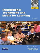 Instructional Technology and Media for Learning, 10E by Russell  (9780132719933)
