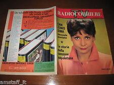 TV RADIOCORRIERE 1962/42=COVER RENATA MAURO=PAPA LORETO ASSISI=CANZONISSIMA=