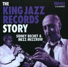 The King Jazz Records Story [Box] by Mezz Mezzrow/Sidney Bechet (CD,...