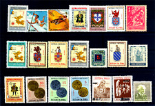 Portuguese India-Goa 21 All Different Stamps Mint Only Pre 1960 Coin Map