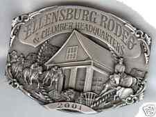 2001 Ellensburg Rodeo Commemorative Belt Buckle