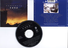1492 CONQUEST OF PARADISE (BOF/OST) Vangelis (CD) 1992