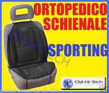 COPRI SCHIENALE ORTOPEDICO +CONFORT GUIDA PROTEZIONE SEDILE AUTO SUV JEEP CAMPER