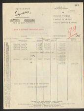 """PARIS (IV°) PRODUITS de BEAUTE / COSMETIQUE """"PARFUMERIE LESQUENDIEU"""" en 1948"""