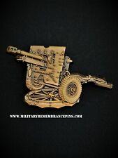 Ordnance QF 25-pounder Artillery Lapel Pin (W7)