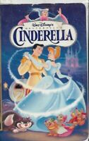 Cinderella (VHS, 1995) Walt Disney Masterpiece Collection Animated Classic