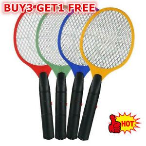 Electric Fly Bug Zapper Bat Racket Swatter Bug Mosquito Wasp Pest KIller SALE