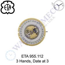 Genuine ETA 955.112 Watch Movement Swiss (Multiple Variations)