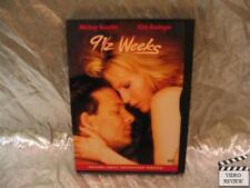 9 1/2 Weeks DVD Mickey Rourke Kim Basinger