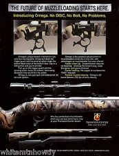 2003 THOMPSON CENTER ARMS TCA Omega Muzzleloading Muzzle Loader RIFLE AD