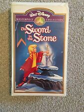 Walt Disney's Masterpiece Collection The Sword in the Stone (VHS, 1998)