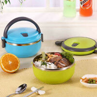 Leak-Proof Lunch Box Eco-friendly Thermal Insulated Food Picnic Container
