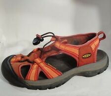 KEEN Women sz 8 Red Water Shoes Trail Sport Sandals Hiking River WaterProof