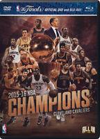NBA: Champions 2015-2016 [New DVD] With Blu-Ray
