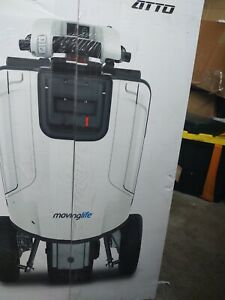 Mobility scooter white