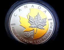 1 oz Platinum Coin - 25th Anniversary of Platinum Maple Leaf - Mintage: 250