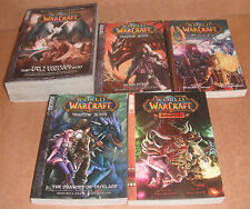 Lot of 5 World of Warcraft Manga Graphic Novels Set English NEW