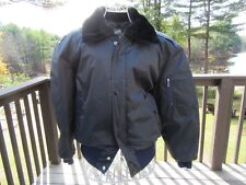 7S/MENS NAVY GOLDEN BAY CANADA COAT/PARKA/JACKET/WINTER/BOMBER/LARGE/PUFFER!