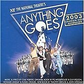 Cole Porter - Anything Goes 2003 National Theatre's London Cast Recording CD