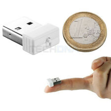Micro Wireless N USB 802.11b/g/n 150Mbps Nano Network Adapter Mini WiFi Dongle