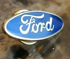 FORD OVAL AUTO HAT PIN LAPEL PIN TIE TAC ENAMEL BADGE #0210
