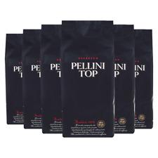 Pellini Top Arabica 100%, 1000g ganze Bohne 6er Pack