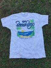 VTG Beach Boys 1988 World Tour Shirt Tour Size L
