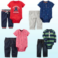 Bodysuit & Pants Set Carter's Baby Boys 2 Pc Play-wear Outfit NWT