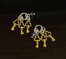 Miniature Key Ring for Ellowyne Sybarite Tonner Dollhouse Unoa MSD Dollfie BJD