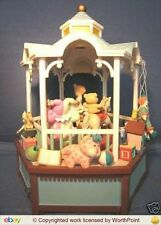 NEW RARE Enesco Toy Gazebo Multi-Action/Light Music Box NIB