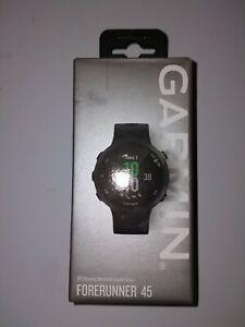 Garmin Forerunner 45 GPS Running Watch, Large - Black