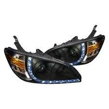 04-05 Honda Civic ES EM 2/4 Door Projector Headlights R LED w/Amber Reflector