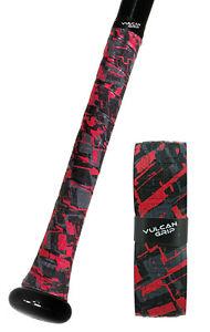 VULCAN ADVANCED POLYMER BAT GRIPS - ULTRALIGHT 0.50 MM - RED SIZZLE