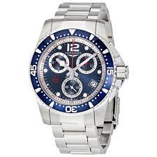 Longines HydroConquest Chronograph Blue Dial Mens Watch L37434966