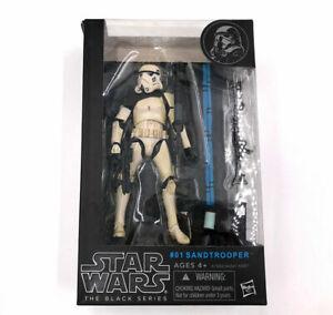 """Star Wars Black Series - 6"""" Sandtrooper Trooper #01 Hasbro - NEW BOXED"""