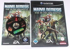 "GameCube juego ""Marvel Nemesis Rise of the Imperfects"" completamente"