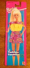 1995 Barbie Fashion Favorites - Yellow, Floral, Skirt, Shirt