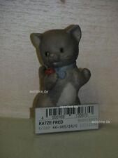 +# A006461_02 Goebel Archiv Limpke Nina & Marco, Katze Cat Fred mit Käfer 66-965