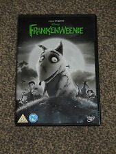 FRANKENWEENIE : TIM BURTON DISNEY DVD IN VGC (FREE UK P&P)