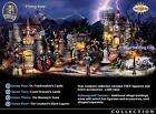 COMPLETE Hawthorne Village Halloween Universal Monster SET Trains Accessory Sets