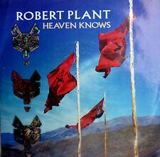 "7"" 1988 MINT-! ROBERT PLANT LED ZEPPELIN : Heaven Knows"