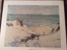 Framed & Glazed Norman Macgeorge (1872-1952) Print 'Mother of Pearl' Beach Scene